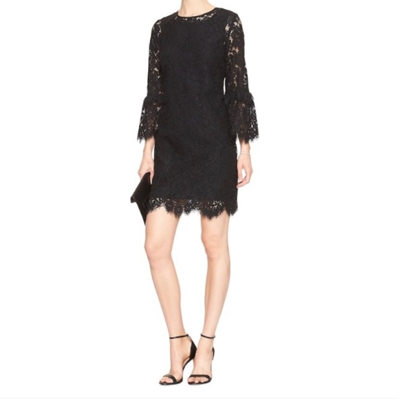 Banana Republic Dresses & Skirts - NWOT Banana Republic Black Lace Dress